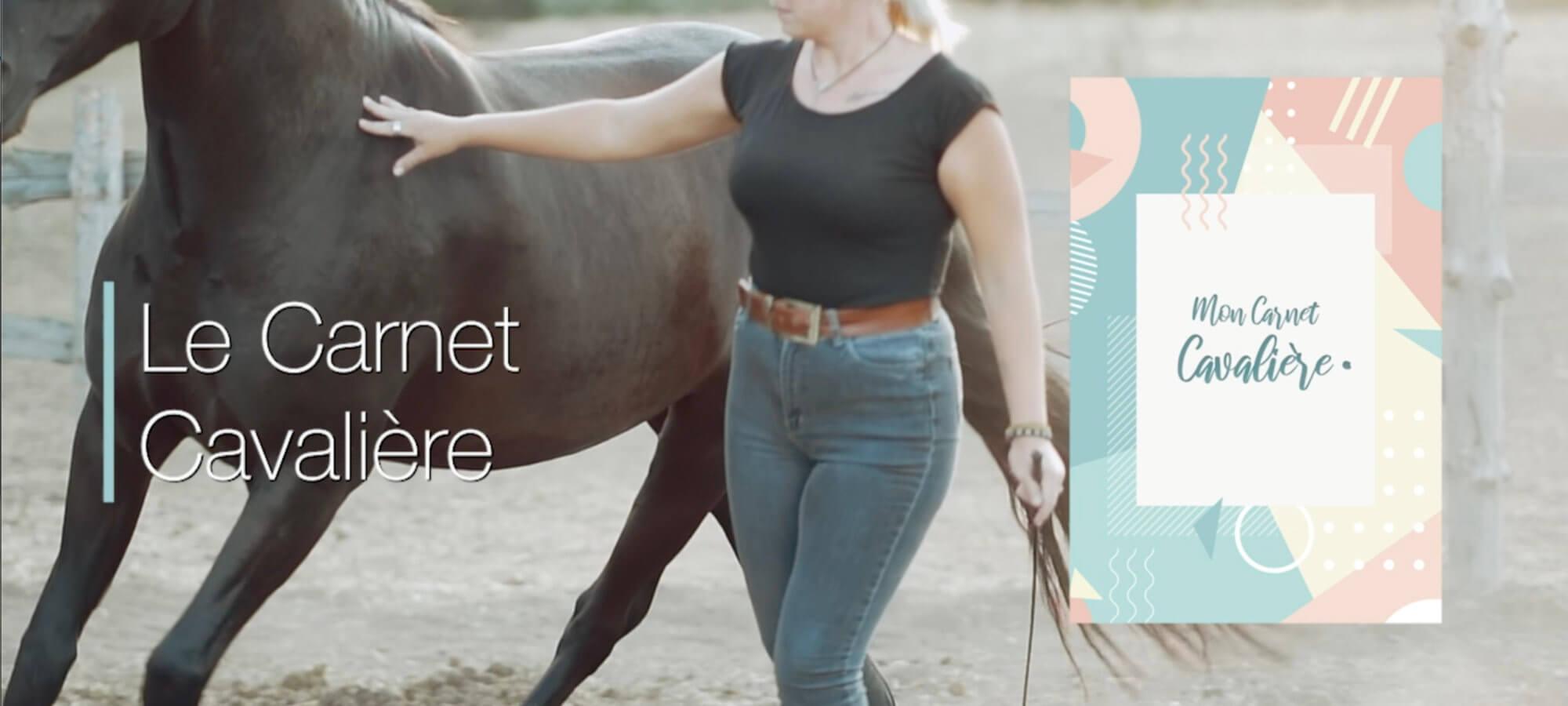carnet cavalière cheval partage